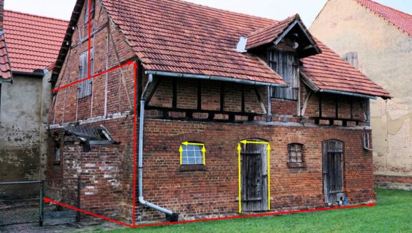 Jak si zaměřit dům?